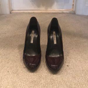 Eggplant / aubergine Brian Atwood pumps / heels